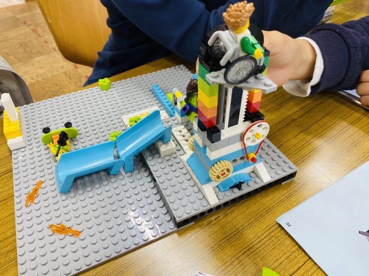 [レゴエクスプローラー]めぐろロボット教室4 どんどん動かしていく