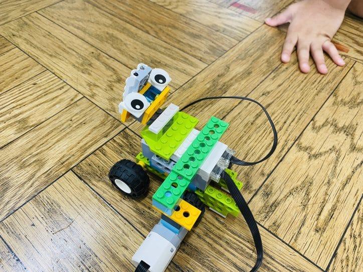 [レゴエクスプローラー]めぐろロボット教室5-6 ロボットを走らせよう