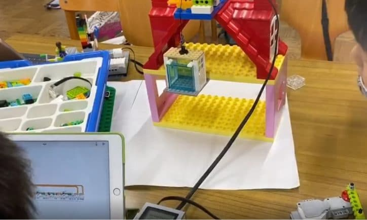 [レゴエクスプローラー]めぐろロボット教室8  オリジナル作品を作ってみよう